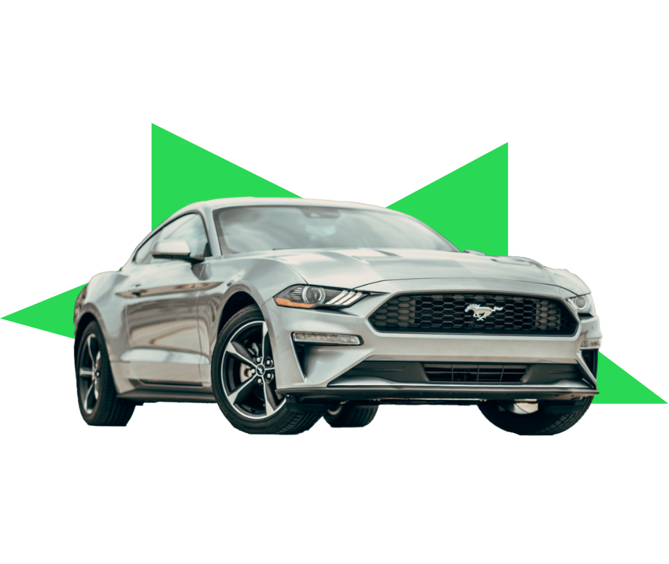 Brand new ford mustang